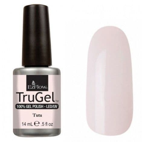 EzFlow Trugel Led/UV Gel Polish - Tutu - 0.5oz/14ml