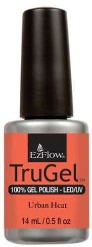 EzFlow Trugel Led/UV Gel Polish - Urban Heat - 0.5oz/14ml