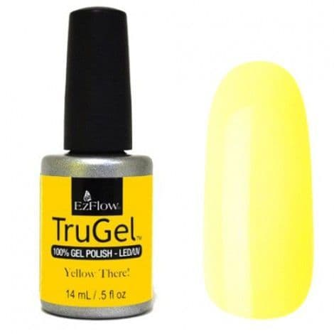 EzFlow Trugel Led/UV Gel Polish - Yellow There! - 0.5oz/14ml