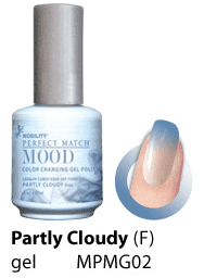 LeChat UV/LED Mood Gel 15ml - Partly Cloudy