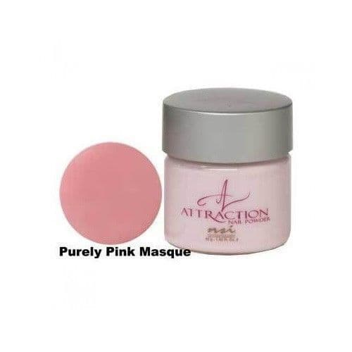 NSI Attraction Acrylic Nail Powder - PURELY PINK 40g