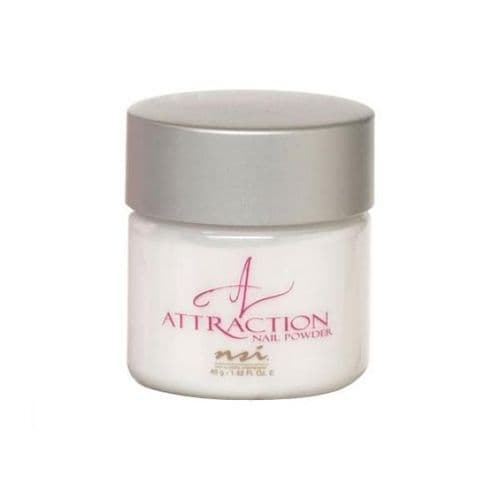 NSI Attraction Acrylic Nail Powder - TOTALLY CLEAR 40g