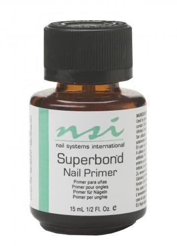 NSI  SuperBond - Nail Primer - 15ml  Use with UV gels and Acrylic Nails