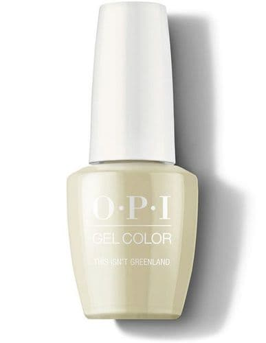 OPI Gel  This isn't Greenland