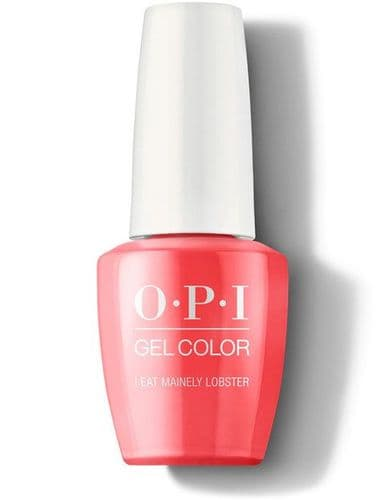 OPI Gelcolor I eat mainly Lobster