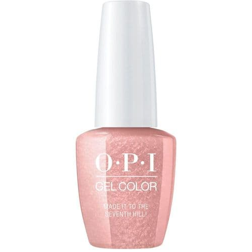 OPI Gelcolor Made It To The 7th Hill!