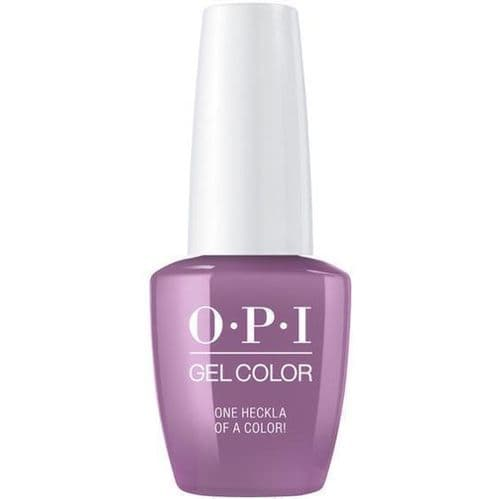 OPI Gelcolor  One Heckla of a Colour