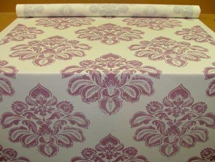 Ashley Wilde ASHLESA Damson Linen/Cotton Blend Curtain /Soft Furnishing Fabric