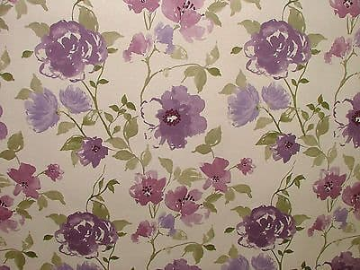 Ashley Wilde MARDEN LAVENDER FLORAL Curtain/Upholstery/Soft Furnishing Fabric