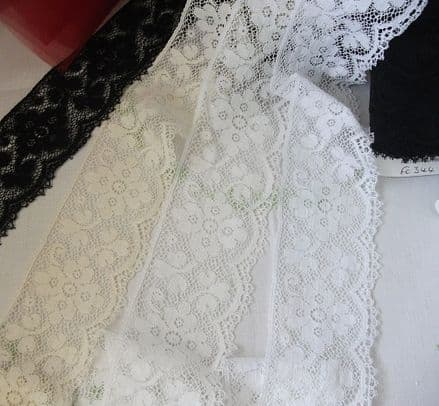 FC344 Nottingham Cotton Cluny Lace - 4 colours