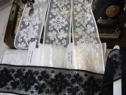 FC345 Nottingham Cotton Cluny Lace