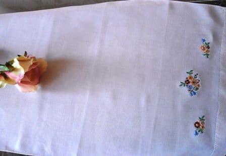 HT2 Genuine Vintage Huckaback Towel.