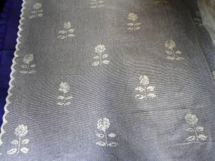 Ivory Rose Lace Panel