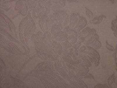 Premium Designer MAUVE Damask Curtain / Upholstery /Soft Furnishing Fabric