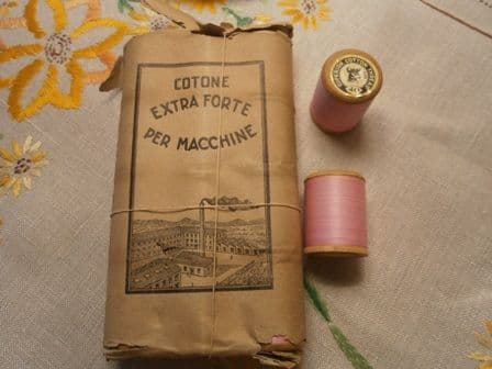 Superior Italian Cotton thread