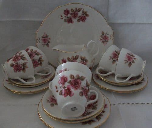 Vintage Bone China Teaset by Duchess - Roses.