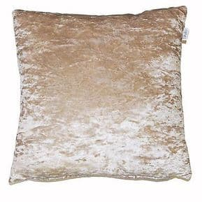 Lustre Luxury Crushed Velvet Cushion Cover/s 18