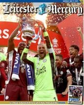 FA CUP WINNERS!!!! Leicester Mercury - Monday 17th May