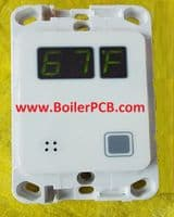 Step Warmfloor Temperature  Display / Control PCB for electric underfloor heating system