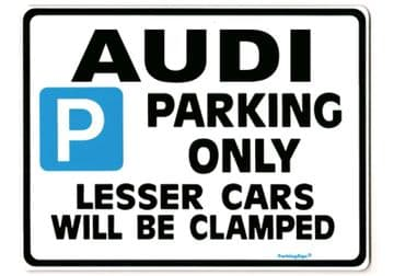 Audi Large Sign for a2 a3 a4 tt tdi quattro 100 80 a6