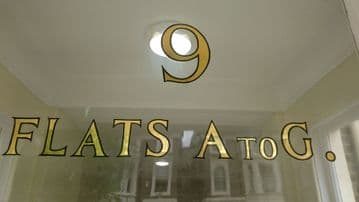 Flats A to G mirror gold