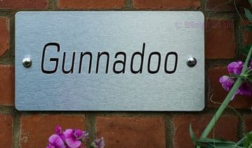 Gunnadoo -Funny House Name Sign Plaque- Ideal housewarming gift