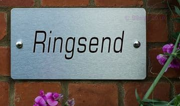 Ringsend  -Funny House Name Sign Plaque- Ideal housewarming gift