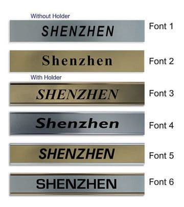 Shenzhen Clock Name Plate |World Time Zone City Wall clocks Sign custom Plaque
