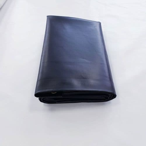 Heavy Duty Black Tarpaulin