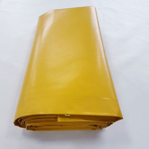 Heavy Duty Yellow Tarpaulin