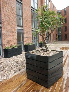 Trough Modular GRP Planters From potstore.co.uk