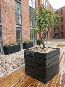 Square Modular GRP Planters From potstore.co.uk