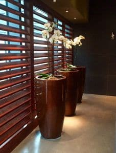 GRP Tall Tapered Round Pots From potstore.co.uk