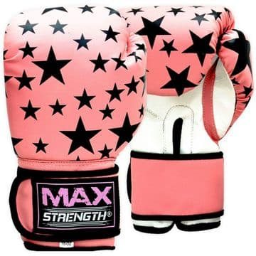 BG06 Ladies Pink Boxing Gloves