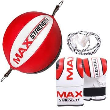 Double End Speed Balls and Boxing Bag Mitts