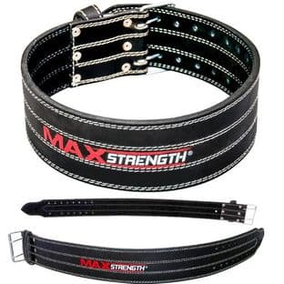 G273 Best Bodybuilding Belts Available in Black Colour