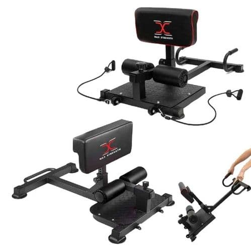 G407/A Sissy Squat Machine With Resistance  Band