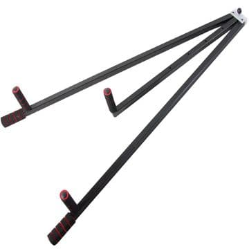 LS100 Leg stretcher Heavy Duty 3 Bar Martial Art Training Stretching Machine