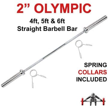 Olympic Weightlifting Barbell Bar