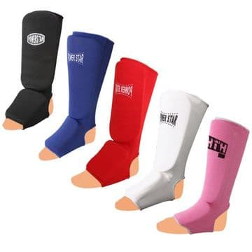 P118/A Shin Instep Leg Guards Foot Pads Protector