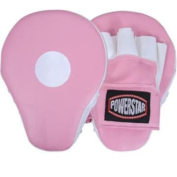 Pink Focus Pads Made of Rexion Leather in Pink Colour, By Maxstrength