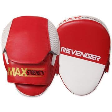 T53 Curved Focus Pads Made of Synthetic Leather in Red Colour