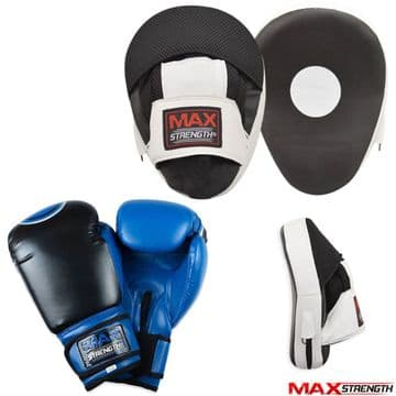 T55 Focus Pads & Target Boxing Gloves Set MMA Training Mitts