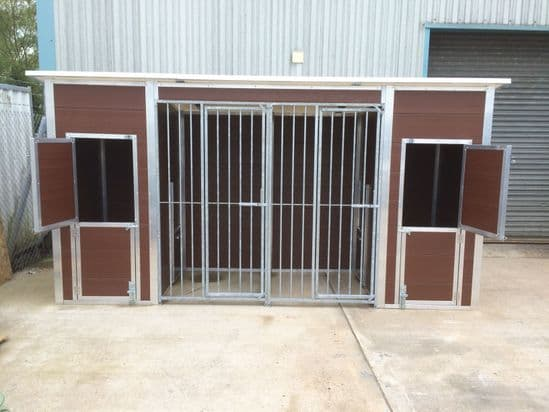 Thermoplastic Dog Kennels and Dog Runs
