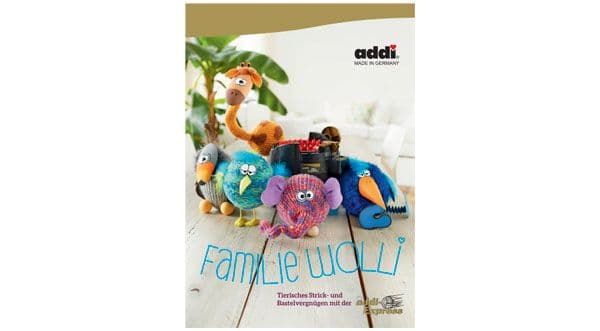 Addi Express Book 4 Woolly Family