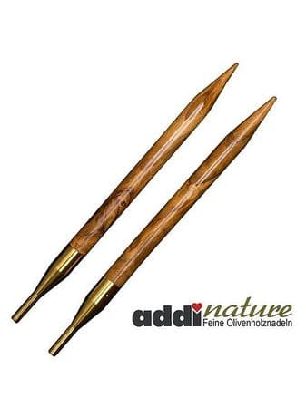 AddiNature Click Olive Wood Needle Tips