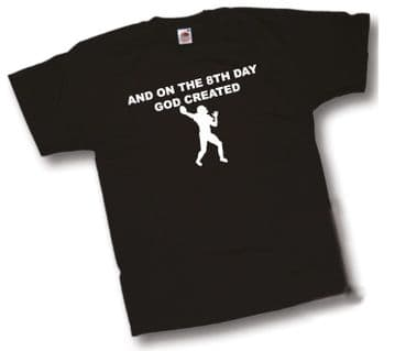 8th Day GOD created American Football T-Shirt