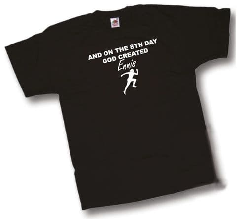 And on the 8th Day GOD created Jessica Ennis T-Shirt From Shoebob the UK T Shirt Specialist