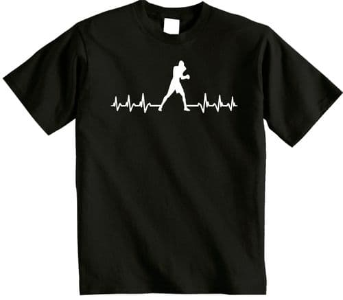 It's in My HeartBeat  Boxing t shirt Boxer t-shirt