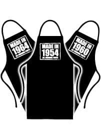 Made in Birthday Aprons